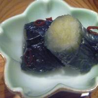 イカのサラダ。梅酢ドレッシング。