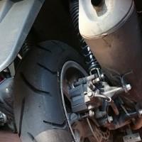 N-MAX-155 タイヤ交換で驚いたこと
