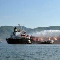 3人がIzmit湾でLPGタンカーM / THabaşの火災で負傷した   トルコ