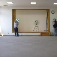 スポーツ吹矢「自主練習グループ」87回目の練習・・・姶良市加治木ふれあいセンター
