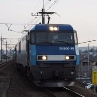 2017年3月23日,今朝の中央線 81レ EH200-19
