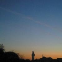 🌙月と🌕金星と観音様と