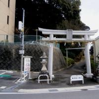 走田神社の鳥居(川をたどれば湯谷川編)