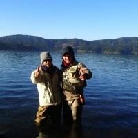 芦ノ湖のコーホー