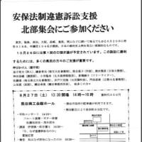 27日、熊谷市で安保法制違憲訴訟支援北部集会