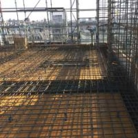 中村区中村本町の共同住宅の6F配筋検査