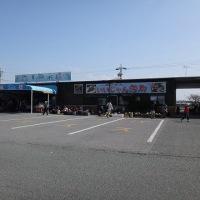 7.蒲郡海鮮市場に立ち寄りゴールへ
