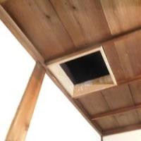 薪ストーブの設置&煙突工事完了♪