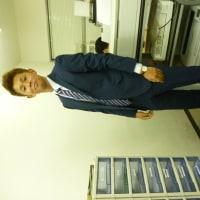 今日のスーツ