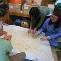 食と命の教室 糀作り♪