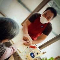 初めての特別養護老人ホームのボランティア活動