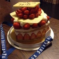資生堂パーラーのデコレーションケーキ