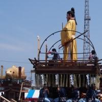 ユネスコ無形文化遺産登録、記念祝賀山車曳き廻し