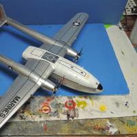 年越し模型 787