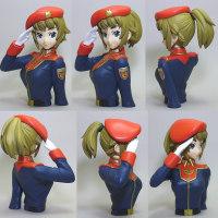 ホシノ・フミナ准尉、着任!