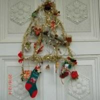 クリスマス仕様の玄関