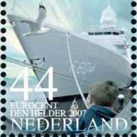 切手に見る世界の海軍   オランダ