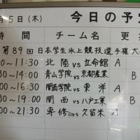 アイスホッケーインカレ開幕、東洋大学は関西学院に圧勝! 明日は青山学院戦(箱根駅伝の敵討ち?)