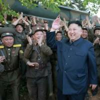 新型迎撃ミサイルの試射「成功」=金正恩氏、量産・配備指示―北朝鮮