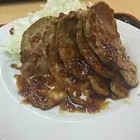 元気レストラン・生姜焼き定食