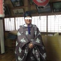 橡木神社、お釜鳴り!!