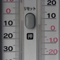 平成29年4月30日・今朝の東祖谷4.8℃