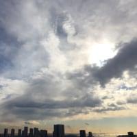 1/14の朝の空
