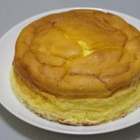 スフレチーズケーキを焼いてみる(その3)