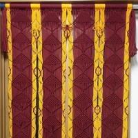 マクラメ編みの暖簾の洗濯