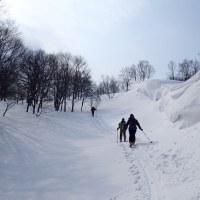 二日目もやっぱり山スキー