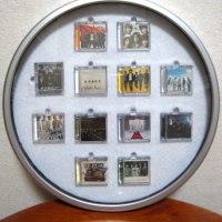 「東方神起ミニチュアCDコレクションを収納」