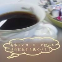 ミニミルサーで美味しいコーヒーを・・・