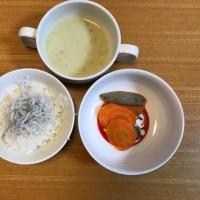 今日の離乳食(晩御飯)【169日目】