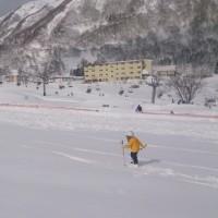 ドカ雪、ハチ高原1日目