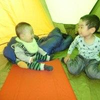 聖湖キャンプ場 夜泣きで眠れないキャンプ('16・10・15-16)