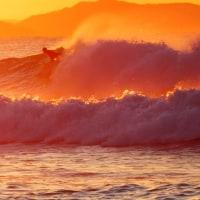 『春の波』 高きうねり