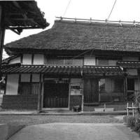 茅葺民家 蔵のある家 岡山県旧加茂町