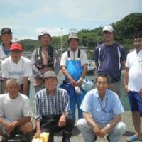 イサキ釣り大会の写真です。(^v^)
