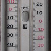 平成29年1月24日・今朝の東祖谷-5.4℃ 積雪は80cmあります