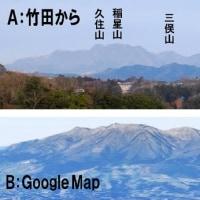 山の名前を調べる方法