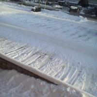 2017/1/21  午前8時過ぎ札幌の空模様