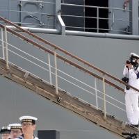 平成29年度日本国遠洋練習艦隊出航〜「鹿島立ち」