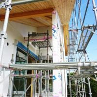 良い家を建てて売りたい!プロジェクト 『 田園を望む家 』。クロス下地完了!仕上工事ほどほど進行中です。