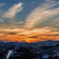 2017/01/07 ダイヤモンド富士11日連続  緑町霊園 💎