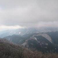朝から雨 高見山