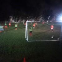 沖縄女子短期大学女子サッカー広場に照明設備が追加に♪