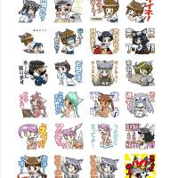LINEスタンプ承認完了!『猫耳少女にゃ!2』販売開始!!
