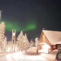 フィンランドの旅 みんなで見たオーロラ♪