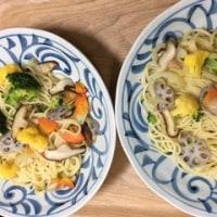 グルテンフリーのパスタ麺🍝 (日本古来のきび・あわ・ひえ)