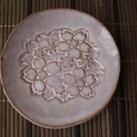 桜型押し皿